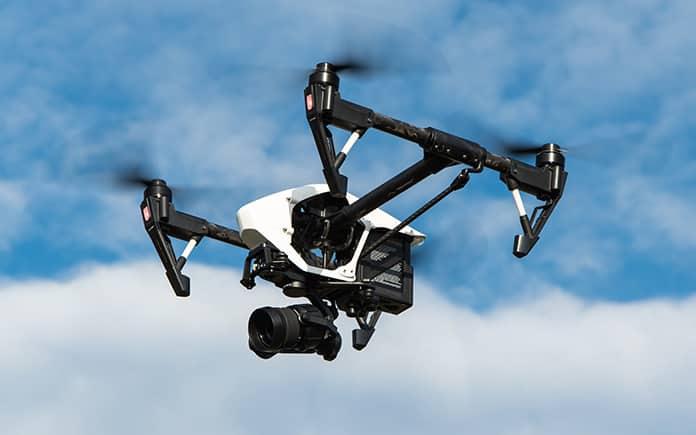 escudo antidrones drones