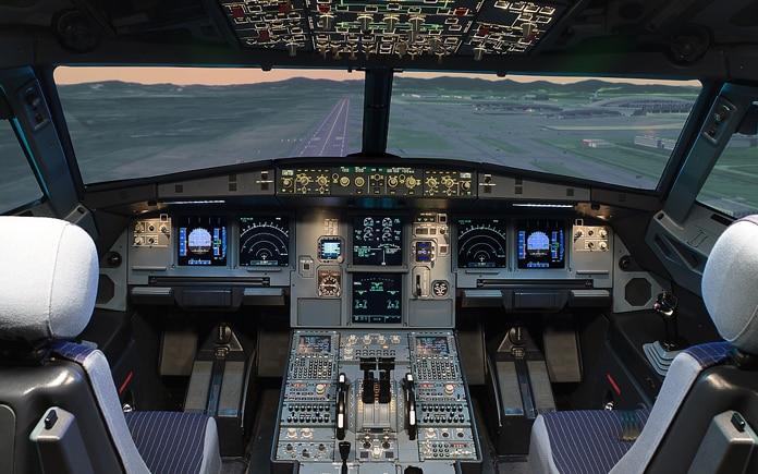 Cabina Simulador A320
