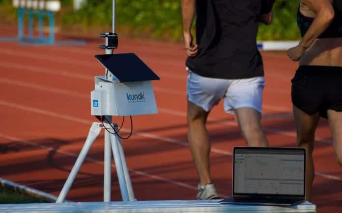 Kunak sensores atletismo