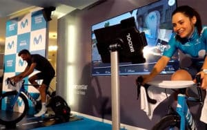 Movistar Virtual Cycling ciclismo virtual