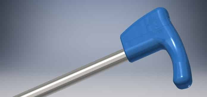 Pauto es un bastón diseñado por i4Life para enfermos neurológicos