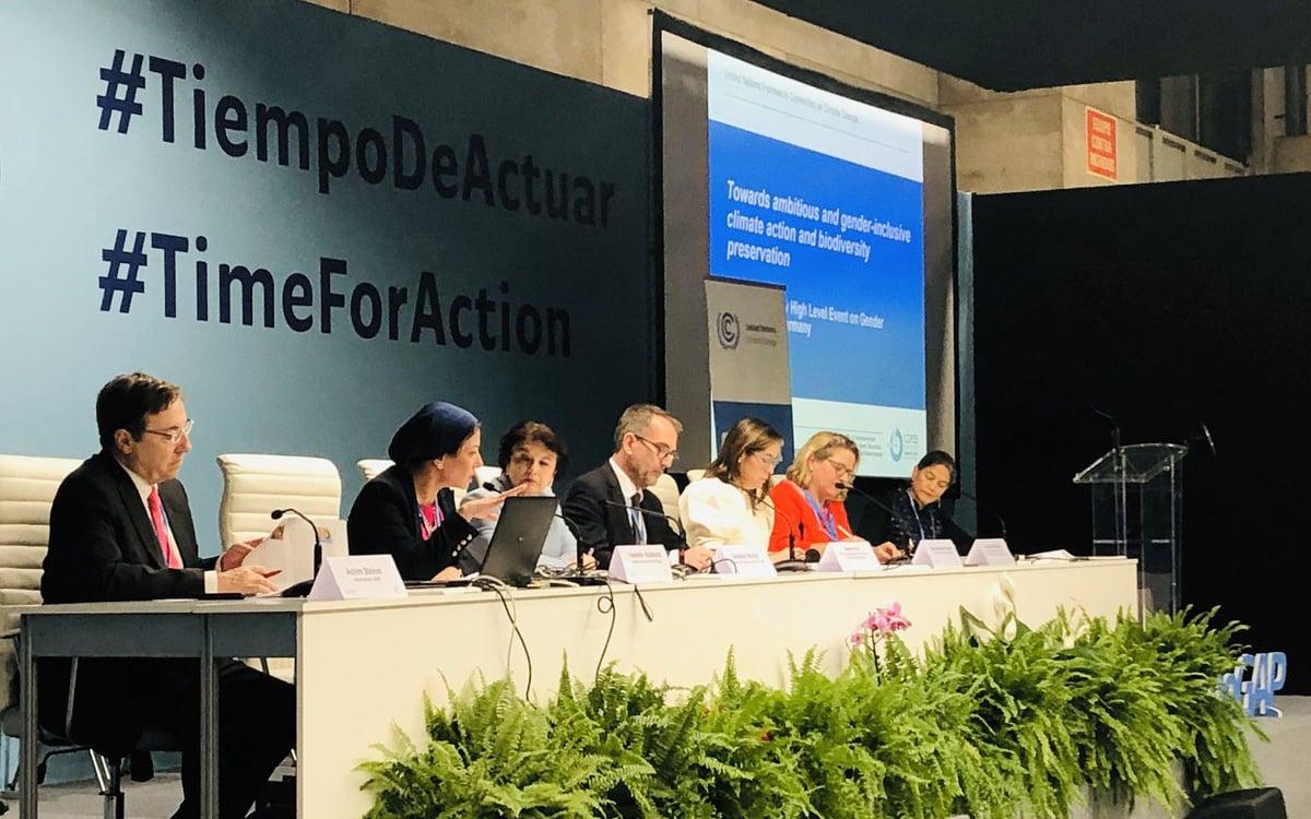 COP25 Madrid Brecha de género