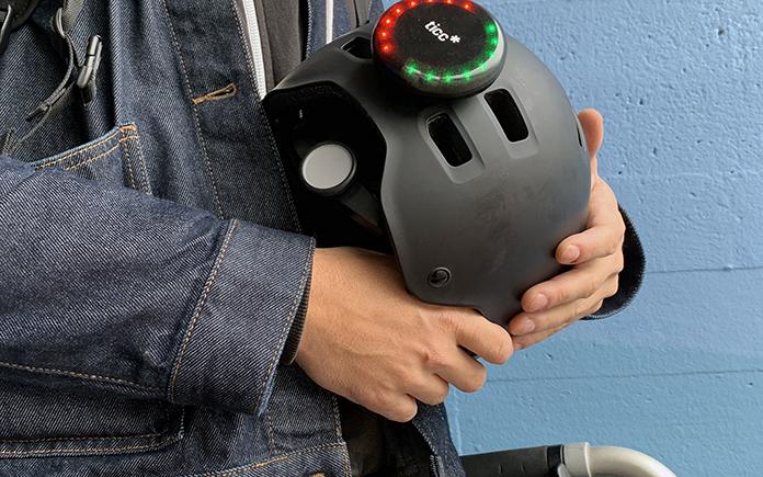 casco de bicicleta ticc