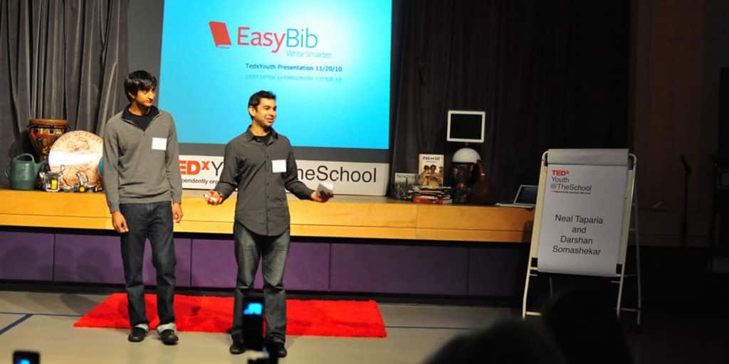 Neal Taparia y Darshan Somashekar son los creadores de Solitaire Women in Computing.