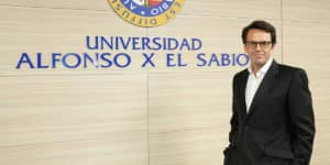 Javier Cano es CEO del Grupo UAX, que acaba de integrar al Grupo The Valley.