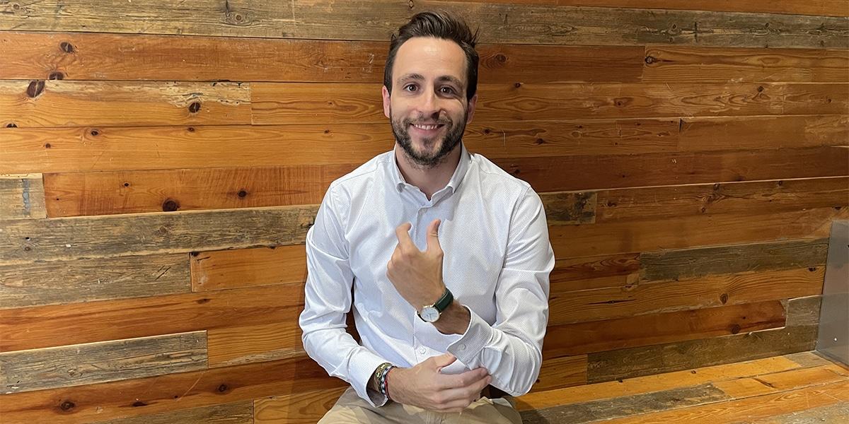 Adrián Pérez es cofundador de la plataforma de mentoring en Data Science, Girafe.